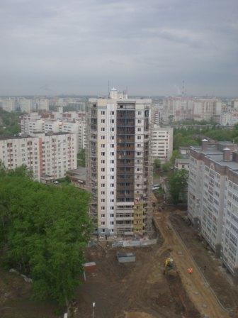 Вид на дом № 53-10 с дома № 53-11