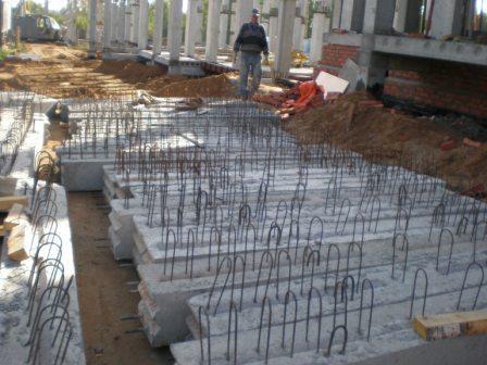 Сборные железобетонные плиты перекрытия и ригели