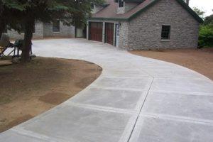 Ландшафтный дизайн дорожной плиты