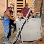 Строительство колодца на заднем дворе вашего дома
